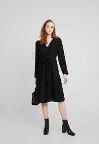 Vila - Day dress - black - 2