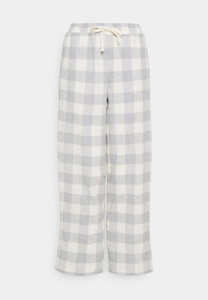 DEAL CHECK PANT - Pyjama bottoms - grey mix