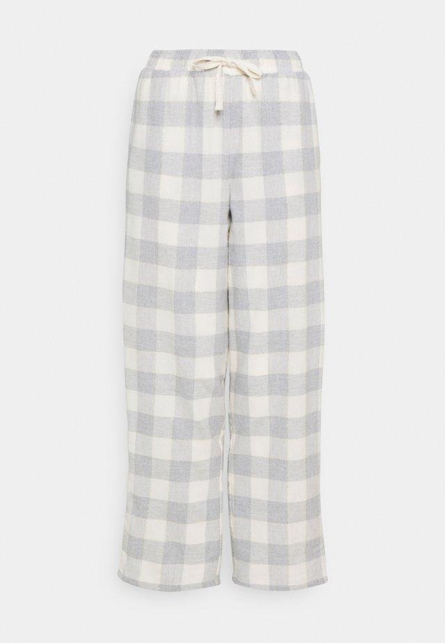 DEAL CHECK PANT - Pyjamasbukse - grey mix