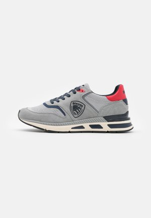 Trainers - grey/red/navy
