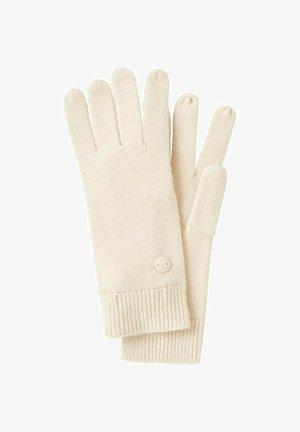 Gloves - smooth light sand
