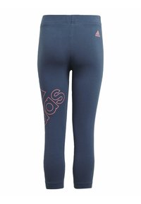 adidas Performance - ADIDAS ESSENTIALS LOGO 7/8 LEGGINGS - 3/4 sports trousers - blue - 1