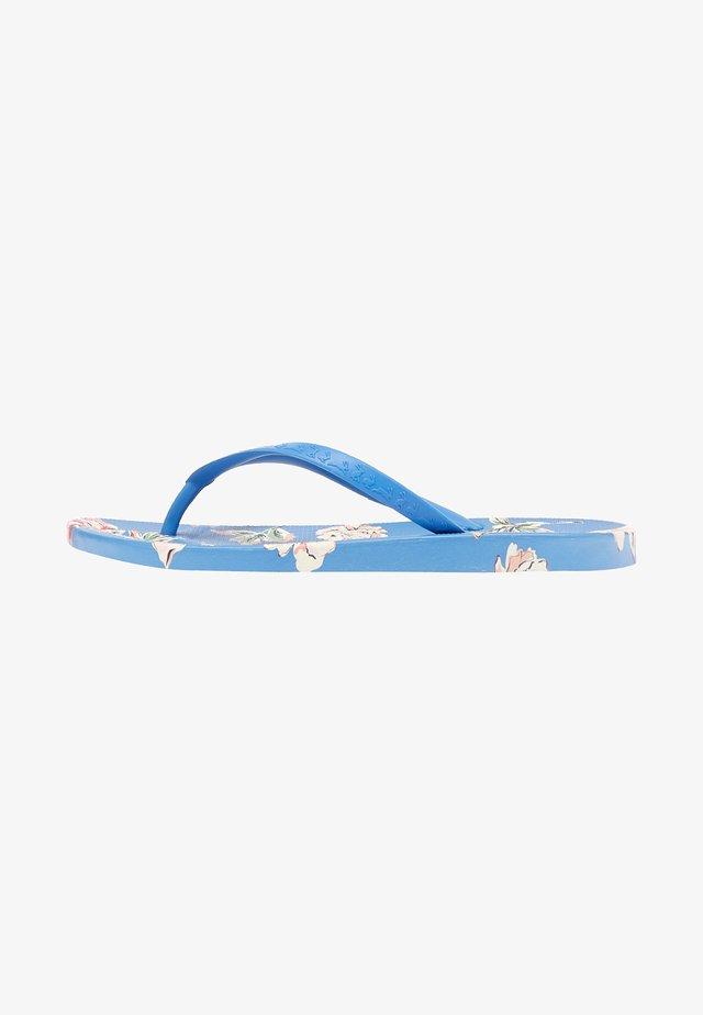Sandały kąpielowe - blau floral