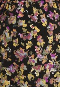 MAMALICIOUS - MLEMRA WOVEN DRESS  - Day dress - black/snow white / fall leaf /dewberry - 5