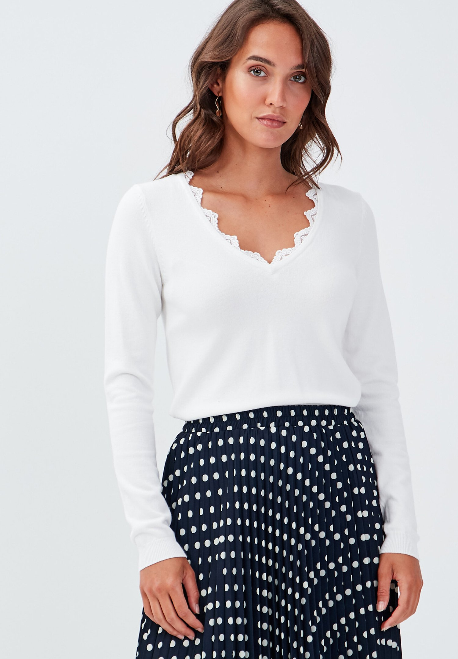 Femme MANCHES LONGUES - Pullover