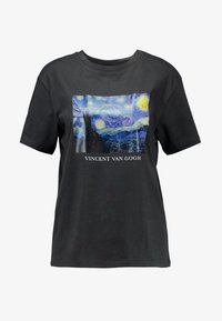 Even&Odd - T-shirts med print - anthracite - 3