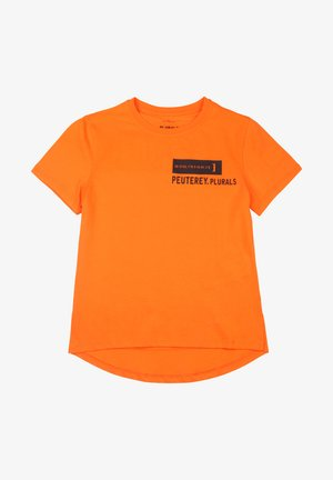T-shirt print - arancione