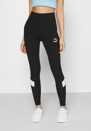 ICONIC - Leggings - Hosen - black