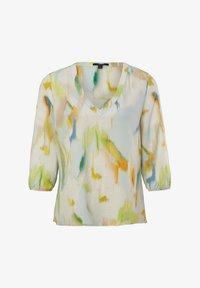 comma - Blouse - mint green faded flower - 5