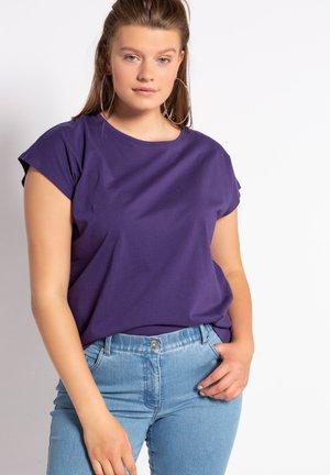 T-shirt basic - lilablau