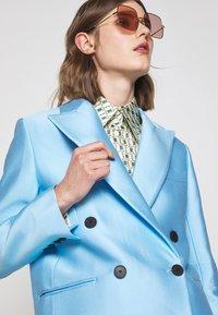 DESIGNERS REMIX - HAILEY - Short coat - sky blue - 5