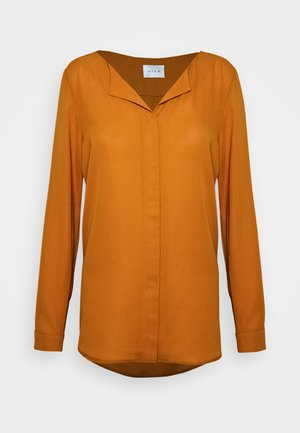 Long sleeved top - pumpkin spice