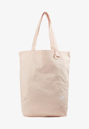 HERITAGE UNISEX - Tote bag - washed coral/washed coral/white