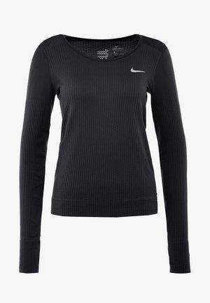 INFINITE TOP  - Camiseta de deporte - black/reflective silver