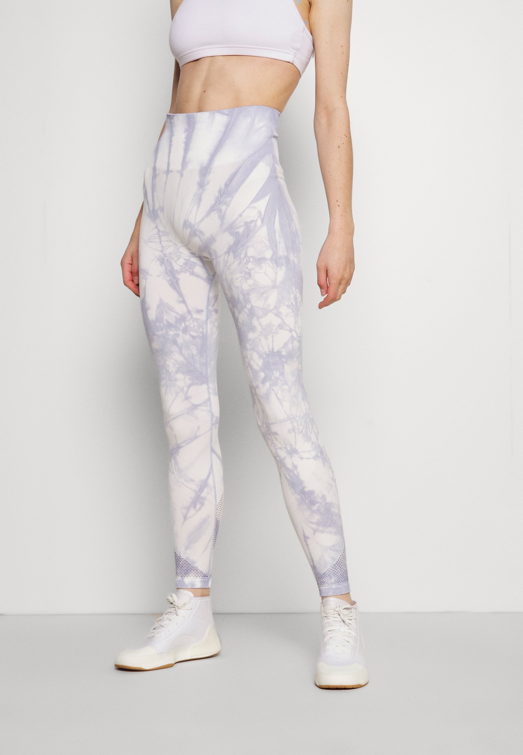 Donna HIGH WAISTED SEAMLESS TIE DYE - Collant