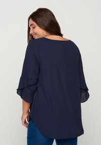 Zizzi - WITH 3/4 LENGTH SLEEVES - Blouse - blue - 2