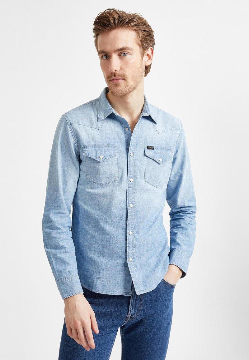Lee - WESTERN  - Koszula - faded blue