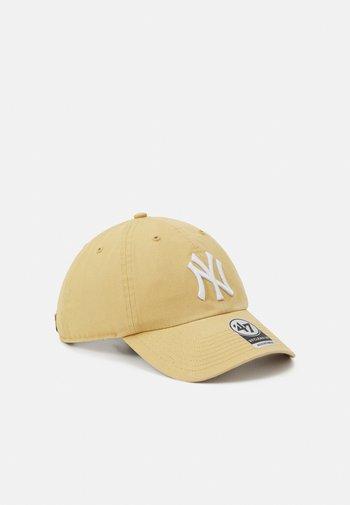 MLB NEW YORK YANKEES CLEAN UP UNISEX - Caps - light tan