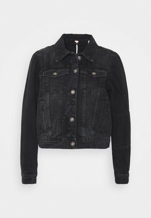 RUMORS JACKET - Veste en jean - black