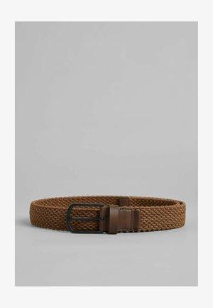 GEFLOCHTENER  - Belt - brown