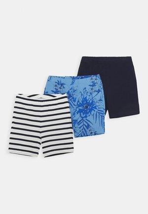 GIRL TUMBLE 3 PACK - Shorts - navy multi