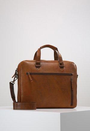 RANDERS  - Briefcase - cognac