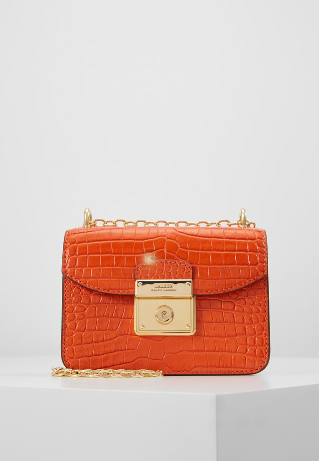 CROSSBODY MINI - Skulderveske - sailing orange