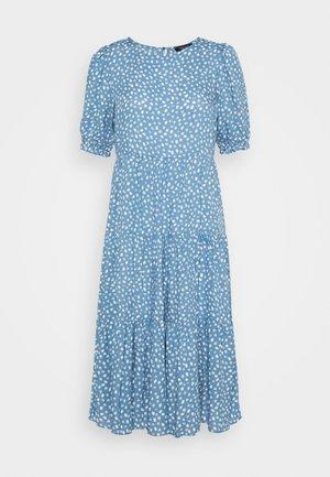 SPOT MIDI - Denní šaty - blue