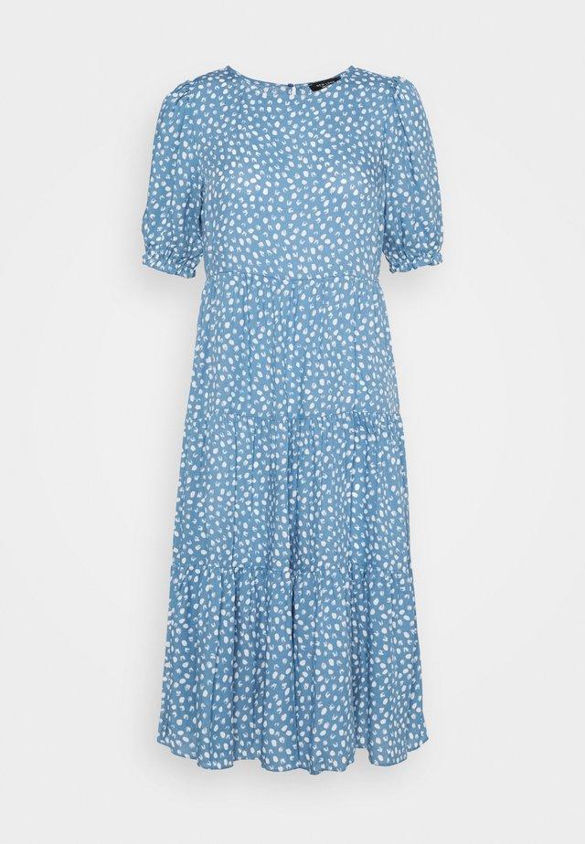 SPOT MIDI - Day dress - blue