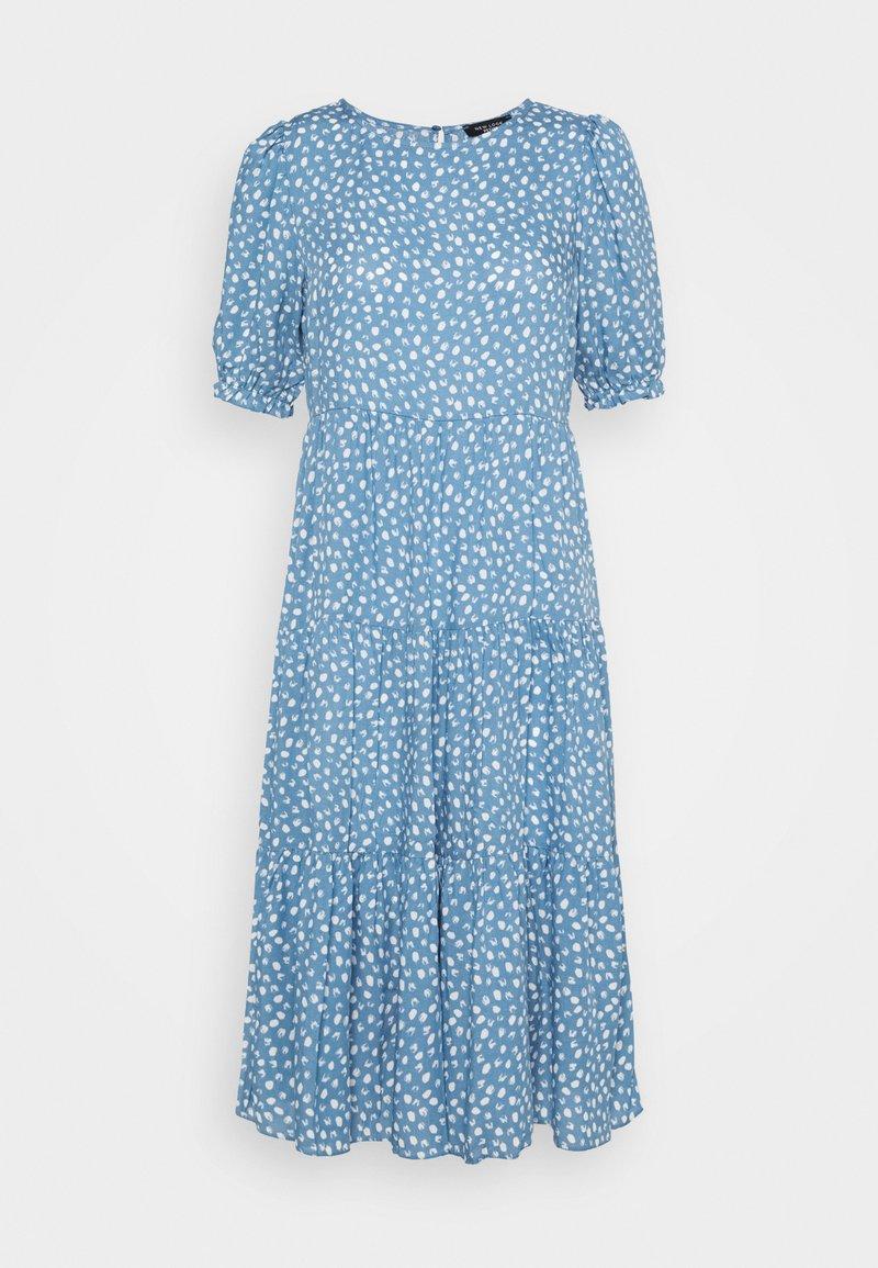 New Look Petite - SPOT MIDI - Day dress - blue