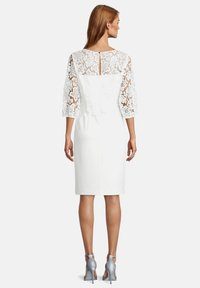 Vera Mont - MIT SPITZE - Cocktail dress / Party dress - ivory white - 1