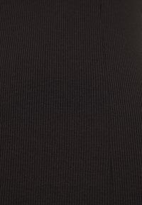 Monki - LOGAN DRESS - Day dress - black - 2