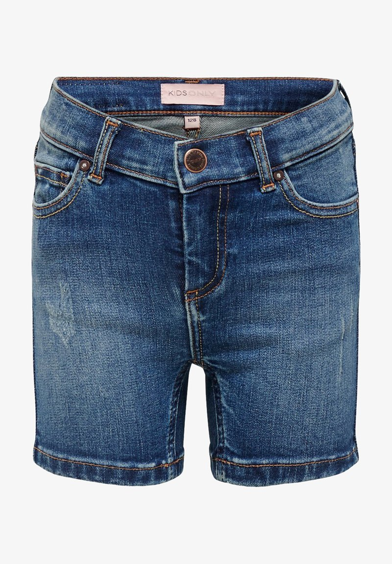 Kids ONLY - Denim shorts - medium blue denim