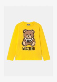 MOSCHINO - UNISEX - Long sleeved top - cyber yellow - 0