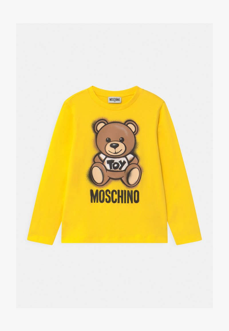 MOSCHINO - UNISEX - Long sleeved top - cyber yellow