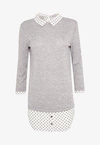 Dorothy Perkins Tall - SPOT HEM 2 - Pullover - light grey - 4