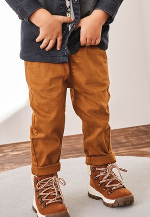 PULL-ON - Trousers - brown