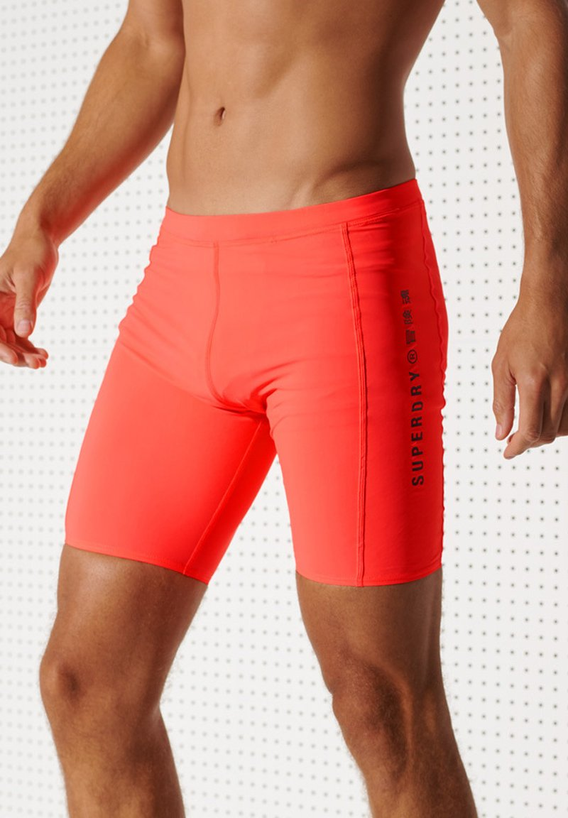 Superdry - Shorts da mare - neon red