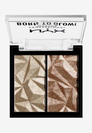 BORN TO GLOW ICY HIGHLIGHTER DUO - Highlighter - 02 platinum status