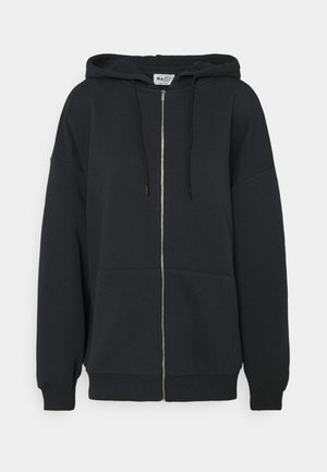 NA-KD X ZALANDO EXCLUSIVE ZIP HOODIE - Sweatjacke - black
