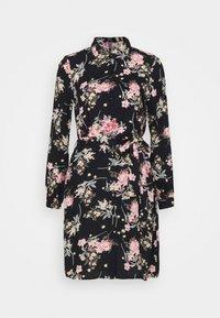 Pieces - PCPAOLA LS DRESS - Shirt dress - black - 4