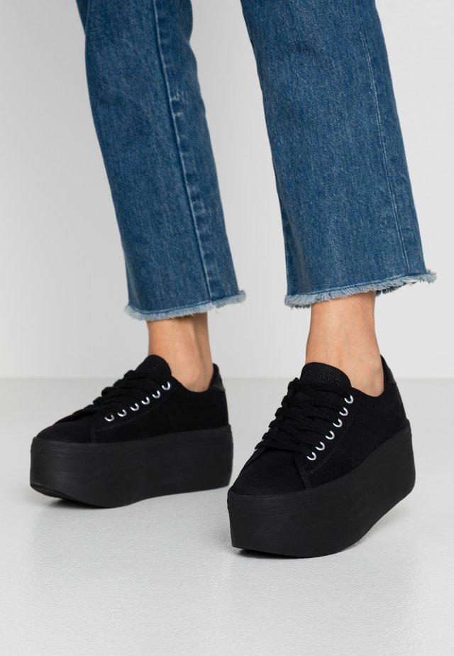 PLATO  - Baskets basses - black
