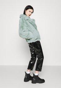 Sixth June - OVERSIZE SHORT JACKET - Winter jacket - green - 2