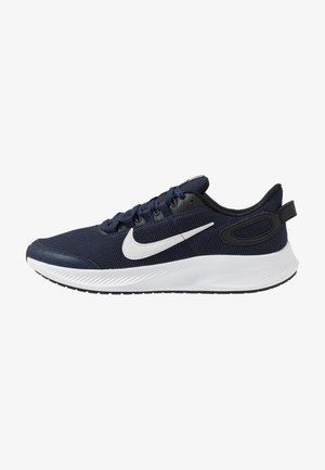 RUNALLDAY 2 - Zapatillas de running neutras - midnight navy/white/black