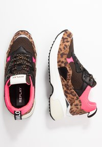Replay - PLUS - Trainers - brown/pink - 3