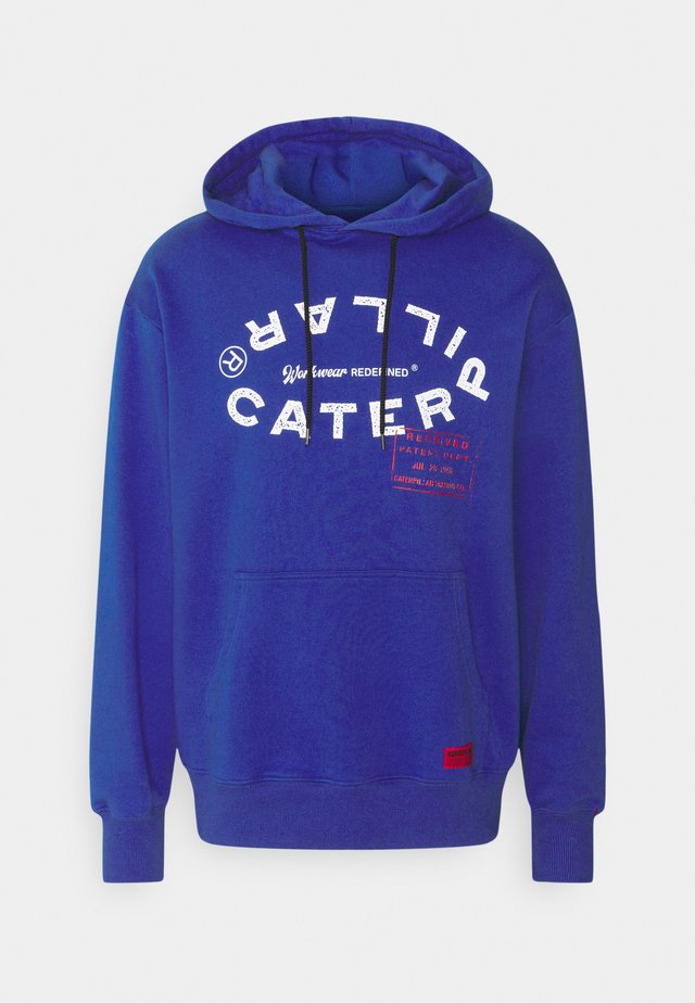 WORLD HOODIE - Sweatshirt - royal blue