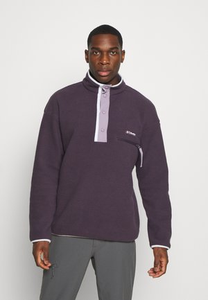 HELVETIA™ HALF SNAP - Sweat polaire - dark purple/shale purple