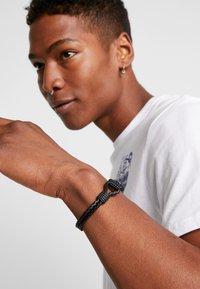 Guess - DETAIL  - Armband - black - 1
