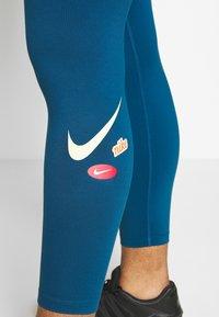 Nike Performance - ONE PLUS - Punčochy - valerian blue/cosmic fuchsia - 4