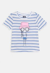 GAP - TODDLER GIRL - T-shirt con stampa - white/blue - 0